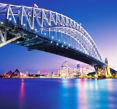 Beautiful Sydney, The largest and most famous city....I wanna go here one day