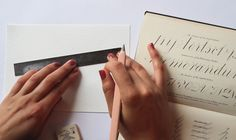Ever since I can remember I've loved beautiful handwritten notes, so you'll understand my excitement when typography guru and self confessed font fanatic Gemma O'Brien (aka Mrs Eaves), offered to give us a lesson in hand lettering. Gemma rocketed to fame 5 years ago as a uni student with her viral youtube video Write Here, … Read More
