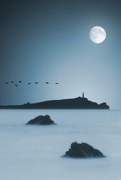 Moonlight Photograph by Jaroslaw Grudzinski - Moonlight Fine Art