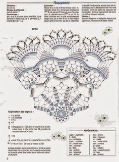 Three pretty doilies to crochet! Circular doily motif: Circle around circles motif: Oval doily motif: More Patterns Like This!