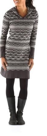 Keeping stylish through the winter with the prAna Meryl Sweater Dress #REIgifts