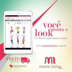 Quer conhecer as peças da nossa linha fitness? Basta acessar o site e montar o look! E o melhor: na Mama Latina, o frete fica por nossa conta! www.mamalatina.com.br  #MamaLatina #MonteseuLook #ModaFitness