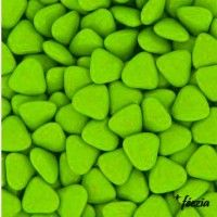 Dragées Mini Coeur Vert Anis