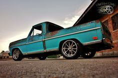 """hot rod hotrod hot hot street streetrod rod ratrodtruck truck truck pickup """"Dazed and Confused"""" ...a 1968 Ford Slam'd Restomod Muscle Truck!~FREE ENCLOSED Deliv"""
