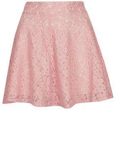 #Topshop                  #Skirt                    #Pink #High #Waist #Lace #Skater #Skirt             Pink High Waist Lace Skater Skirt                                             http://www.seapai.com/product.aspx?PID=361557