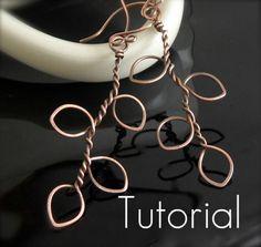Tutorial Tree of Life Earrings | HeidiLee Design