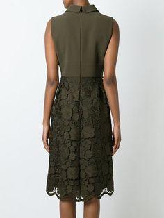 Nº21 платье с юбкой из цветочного кружева