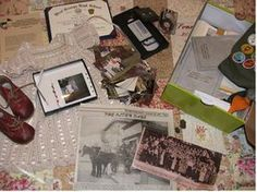 wonderful tips on how to organize and preserve family heirlooms and meaningful documents