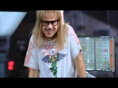 Waynes World - Foxy Lady! I used to love watching my niece Heather do this dance when she was little!