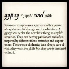 Gypsy Soul- look Watson! its us!!! :] haha except the unfound sense of identity!!:]