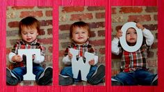 Would be cute with alternating pics of Kaliaah and I. And having the letters spell sisters :)) 2nd Birthday Parties, Boy Birthday, Children Photography, Photography Ideas, Baby Pictures, Cute Pictures, Fun Crafts, Crafts For Kids, Christmas Cards