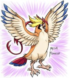 Mega Pidgeot Art that Will Have Your Mind Soaring Powerful Pokemon, Pokemon 20, Anime Hair, Catch Em All, Pretty Art, Disney Characters, Fictional Characters, Mindfulness