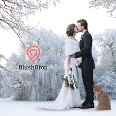 Winter wedding wonderland?   Think BlushDrop!   Score an account for just $39 or prepay some editing at $349 and get your BlushDrop free.