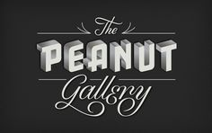 The Peanut Gallery by Jessica Hische