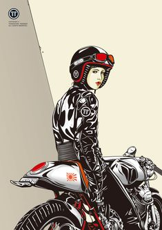 ❤️ Women Riding Motorcycles ❤️ Biker Babes ❤️ Lady Riders ❤️ Girls who ride rock ❤️TinkerTailorCo www.motorbikingclub.com