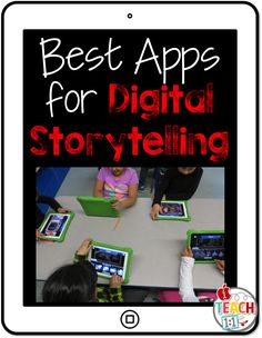 Module 2 - resources  Best iPad Apps for Digital Storytelling This blog offers you many ideas, resources and tools to use storytelling in your classroom. Toontastic (free) allows students to animate their own stories while practicing key story elements.  It guides them through choosing their setting, conflict, climax, and resolution.  Once students are ready to record, they can move the characters around on the screen and it will record both their animations and voices as a cartoon video.