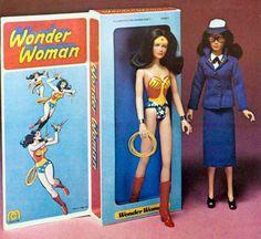 Mego Wonder Woman/Diana Prince figure