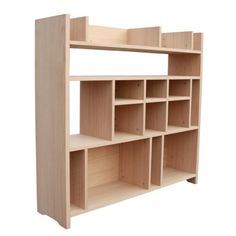 """Grande bibliothèque """"SECRET SHELF"""", chêne bois massif comme d'hab chez Non Jetable!"""