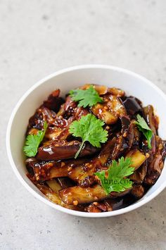 Szechuan Eggplant Recipe -like we used to eat at Peter's Chun King in Toronto!