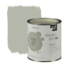 KARWEI Kleuren van Nu lak zijdeglans saliegrijs 750 ml | KARWEI Kleuren van nu | Kleurconcepten | Verf & verfbenodigdheden | KARWEI