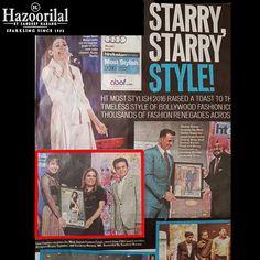 Mr. Sandeep Narang ,Managing Director #HazoorilalBySandeepNarang gives #HTMostStylish award to @lisahaydon as models walk the ramp dazzling in jewellery by the brand. #HLBYSN #htstyleawards #ManishMalhotra #Fashion #Style #Frenzy #HazoorilalPressRelease #Hazoorilal