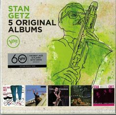 GETZ STAN - 5 ORIGINAL ALBUMS - BOX 5  CD http://ebay.eu/280CCW2