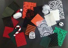 Theme: Nightmare before Christmas textile board (Sehyun Ahn)