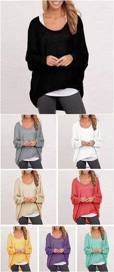 Meet the new casual style and here you are. Want to enjoy big fun from Casual Wear Street Fashion Loose Top. Find more heated loves at FIREVOGUE.COM!