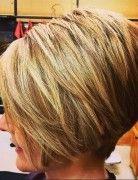 Women Short Haircut for Thick Hair - Best Bob Hairstyles 2015