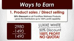 A step-by-step guide on how to become a member distributor of Frontrow International. Learn steps on how to join to avail a discount and earn money. Sales Presentation, Whitening Soap, Direct Selling, Ways To Earn Money, Multi Level Marketing, Online Portfolio, Korean Skincare, Step Guide, Anti Aging