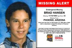 Missing From: DENVER, CO. Missing Date: Apr 1992 AM. Ian's photo is shown age-progressed to 34 years old. He was 15 years old when we he went missing. He was last seen on April 1992 in the Denver, Colorado area. Missing Loved Ones, Missing Persons, Have You Seen, Did You Know, Denver Police Department, Ian Richardson, Foul Play, Kids Poster, Arizona