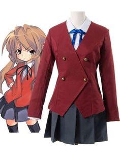 Toradora Aisaka Taiga Cotton Cosplay Costume