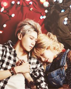 Hyuna and Hyunseung I wish them a happy ending :3