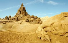This is summer (for one part of the world at least) and we thought it's the perfect timing to put online a new theme-based showcase. Below you can find 40 really impressive sand sculptures. The amount of details in these works are outstanding and the size of some sculptures is remarkable. You'll have to train […]