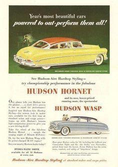 Hudson 1952, Original-Reklameblatt in zürich kaufen bei ricardo.ch