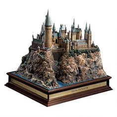 One of my favorite discoveries at HarryPotterShop.com: Harry Potter Hogwarts Castle Replica