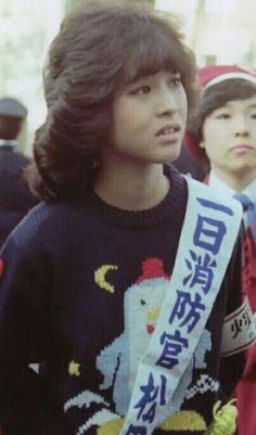 -松田聖子- にわとりの服かわいい。 あどけなさが好き♡