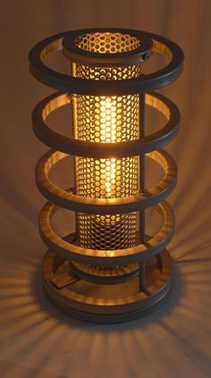 Industrial 'Typhoon' Handmade Steampunk Table Lamp Modern Design Machine Cosplay Edison Bulb Made in Steampunk Table, Lampe Steampunk, Large Lamps, Wood Lamps, Bedroom Lamps, Bedroom Table, Unique Lamps, Design Moderne, Desk Lamp
