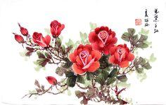 牡丹 花 畫 法 - Google'da Ara