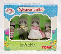 Sylvanian Families Furry Forest Folk Family TOMY UK