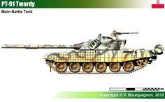 PT-91 Twardy, Poland army.