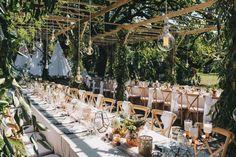 Garden Wedding, Wedding Table, Wedding Blog, Rustic Wedding, Our Wedding, Wedding Venue Decorations, Wedding Venues, Bride And Breakfast, Intimate Weddings