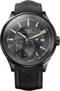 Ball Watch Company for BMW Power Reserve BMW 100th Anniversary #basel-16 #bezel-fixed #bracelet-strap-leather #brand-ball-watch-company #case-depth-12-64mm #case-material-steel #case-width-42mm #cosc-yes #date-yes #delivery-timescale-1-2-weeks #description-done #dial-colour-grey #gender-mens #luxury #movement-automatic #new-product-yes #official-stockist-for-ball-watch-company-watches #packaging-ball-watch-company-watch-packaging #power-reserve-yes #style-dress #subcat-ball-for-bmw…