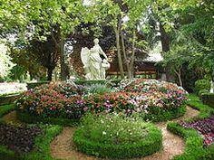Pamplona - Jardines de la Taconera, la Mariblanca.