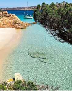 Ilha de Spargi, Sardenha, Itália