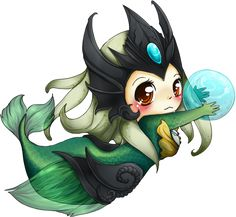 Chibi Nami - League of Legends by *linkitty on deviantART