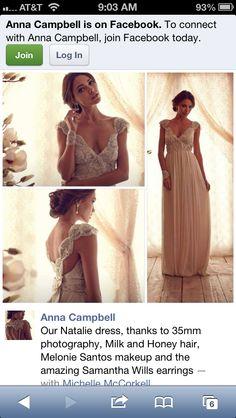 Beautiful Anna Campbell dress
