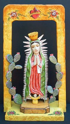 LA VIRGEN DE GUADALUPE~Art by Chris Maya --- N. S. de Guadalupe