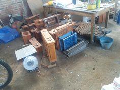 cetakan loster kayu dan Fiber
