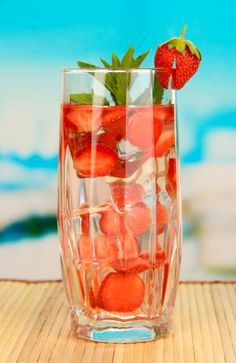 Adding fruit to your water makes things more interesting; a slice of lemon gives a great citrusy flavor, but how about some frozen berries instead of ice cubes for a fun way to cool your water?#weightloss #health #loseweigth #fit #fitness #happy #healthy #sugar #recipe #breakfast #motivation #funny #phentermine #strong #workout #healthy #diet #fashion